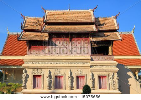 Buddha wooden church
