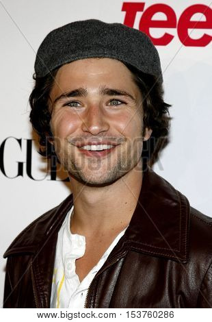 Matt Dallas at the Teen Vogue Young Hollywood Issue Party held at the Sunset Tower in West Hollywood, USA on September 20, 2006.
