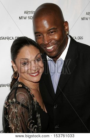 Jasmine Guy at the Archbishop Desmond Tutu's 75th Birthday Party held at the Regent Beverly Wilshire Hotel in Beverly Hills, USA on September 18, 2006.