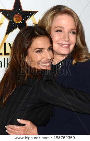 LOS ANGELES - OCT 25:  Kristian Alfonso, Deidre Hall at the Hollywood Walk of Fame Honors at Taglyan Complex on October 25, 2016 in Los Angeles, CA