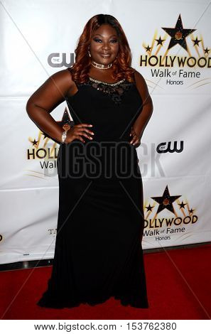 LOS ANGELES - OCT 25:  Candice Glover at the Hollywood Walk of Fame Honors at Taglyan Complex on October 25, 2016 in Los Angeles, CA