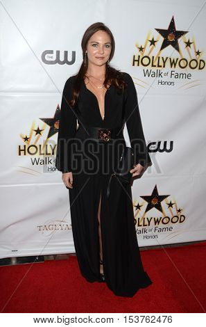 LOS ANGELES - OCT 25:  Jade Harlow at the Hollywood Walk of Fame Honors at Taglyan Complex on October 25, 2016 in Los Angeles, CA