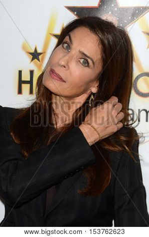 LOS ANGELES - OCT 25:  Kristian Alfonso at the Hollywood Walk of Fame Honors at Taglyan Complex on October 25, 2016 in Los Angeles, CA