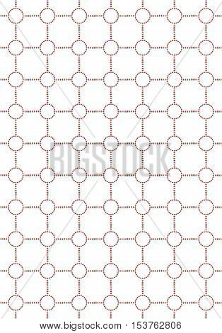 Abstract background with circles seamless color dots pattern