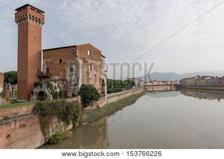 Citadel and Republican Arsenal in Pisa Italy