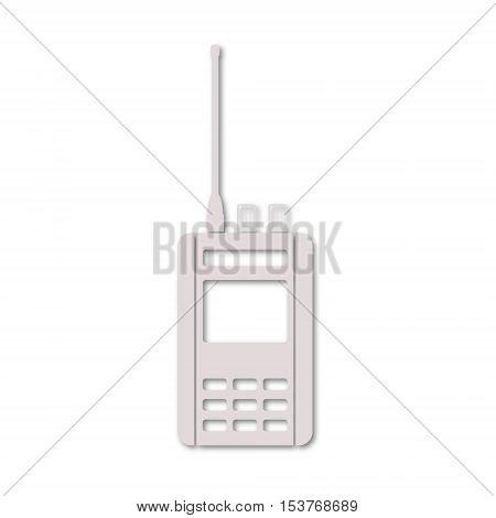 Simple Vector Radio icon on white background