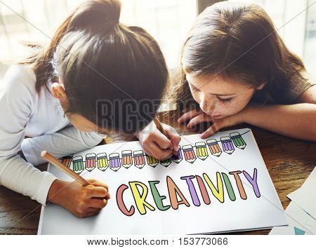 Creativity Education School Learning Study Concept