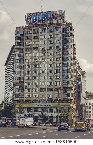 Victory Square, Bucharest, Romania