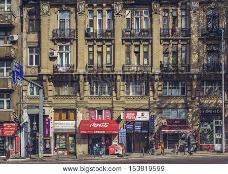 Daily Urban Scene, Bucharest, Romania