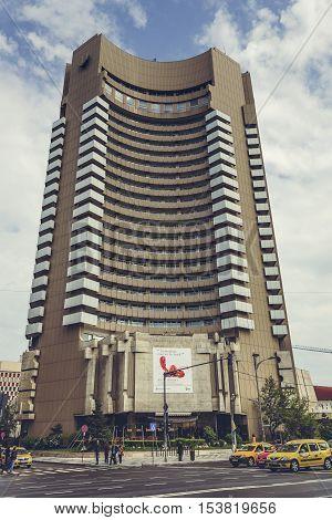 Intercontinental Hotel, Bucharest, Romania