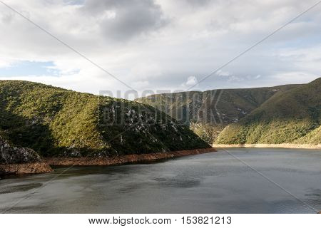 Close Up View -water Inlet To The Kouga Dam