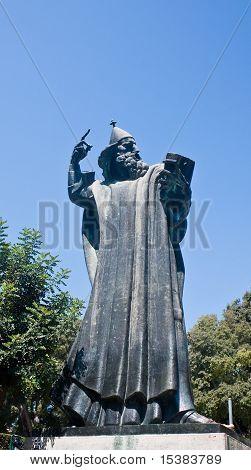 Statue Of Gregorius Of Nin, Croatia