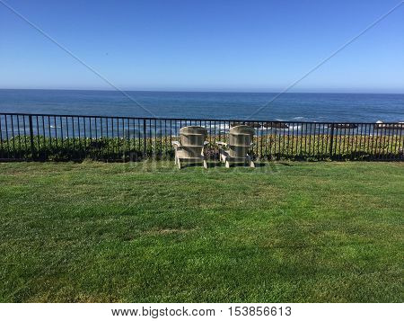 Peaceful Vista on Secluded Northern California Beach