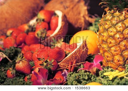 Fruit Arrangement Too