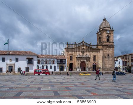 Main Square Of Tunja