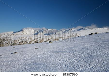 Clouds At Gredos Mountains
