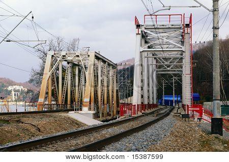 Dos trenes Truss