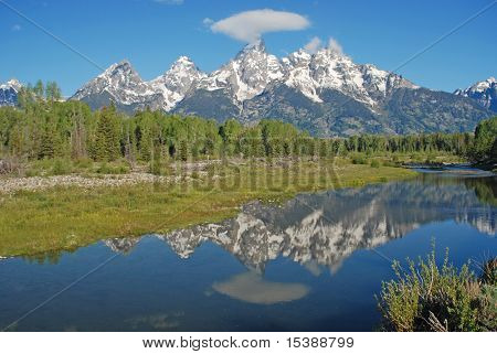 Teton Mountain Range