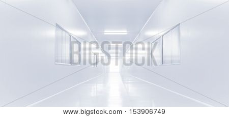 modern interior science lab with lighting from gateway hospital background factory background