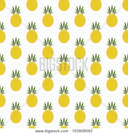 pineapple background. Isolated icon pictogram. Eps 10 vector illustration.