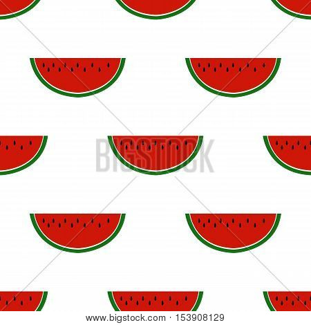 pattern with watermelon,vector seamless pattern with watermelon