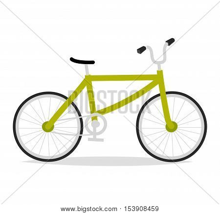 Bicycle set and style antique sport old fashion vintage grunge bicycle flat vector. Vintage bicycle set riding bike transport flat vector illustration. Flat bike, bicycles isolated