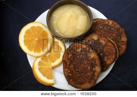 Wheatless Ginger Pancakes