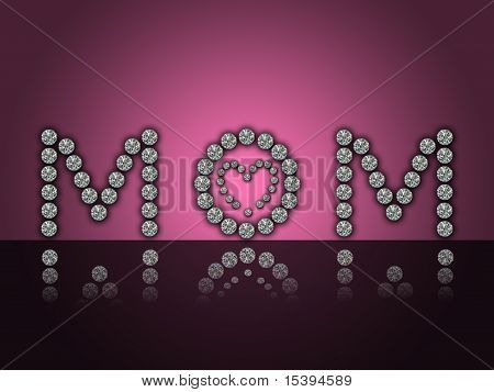 happy mother's day illustartion