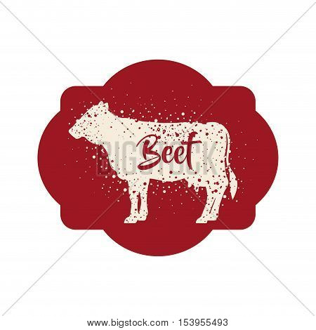 Beet icon. Livestock animal life nature and fauna theme. Isolated design. Vector illustration