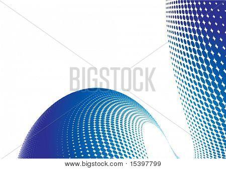 Vector background. Raster#8