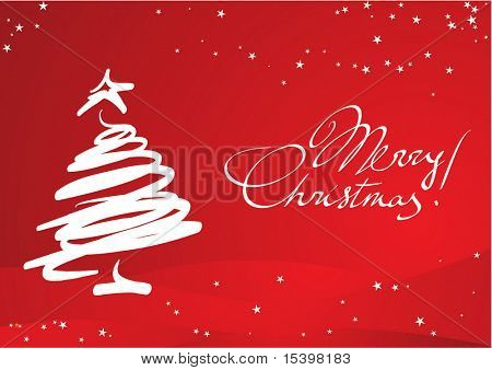 Christmas decoration. Vector illustration.