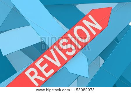Revision Arrow Pointing Upward