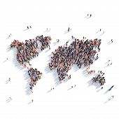 world map  large poster