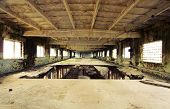 foto of abandoned house  - Abandoned Industrial interior - JPG