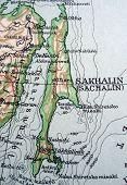 stock photo of sakhalin  - The way we looked at Sakhalin in 1949 - JPG