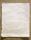 pic of lined-paper  - Pin paper on a wall - JPG