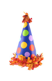 image of birthday hat  - Birthday or New Year - JPG