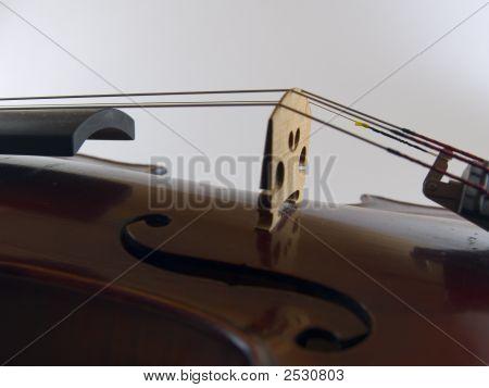 Violin F Hole Cross Excerpt