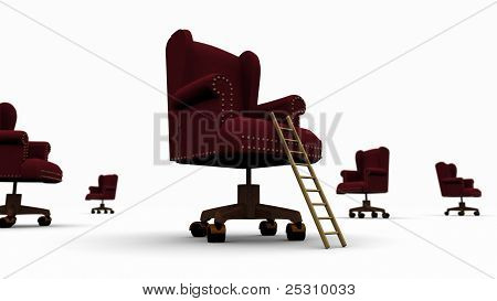 Corporate Ladder + Executive Chair