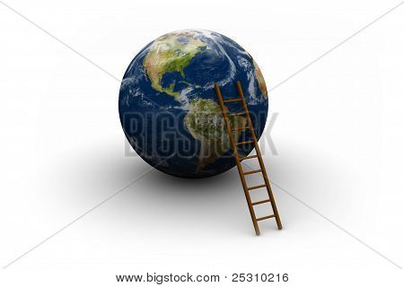 Earth And Ladder