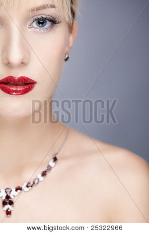Girl In Necklace