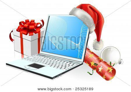 Christmas Laptop Computer