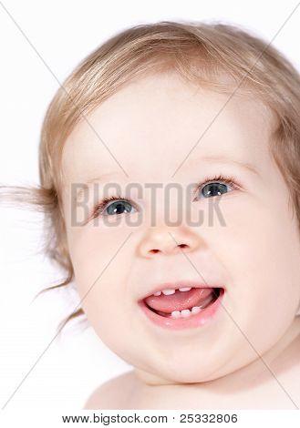 Little happy baby