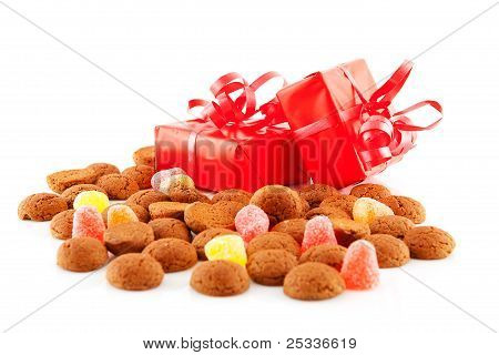 Pepernoten (ginger Nuts) And Presents