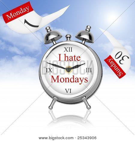 Eu odeio segundas-feiras