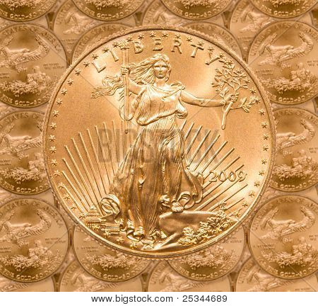 Single Liberty Gold Coin