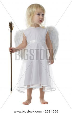Angel With Cupid Arrow