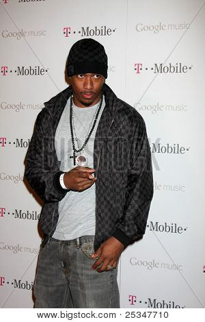 LOS ANGELES - NOV 16:  Nick Cannon arrives at the Google Music Launch at Mr. Brainwash Studio on November 16, 2011 in Los Angeles, CA
