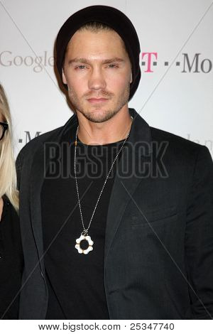 LOS ANGELES - NOV 16:  Chad Michael Murray arrives at the Google Music Launch at Mr. Brainwash Studio on November 16, 2011 in Los Angeles, CA