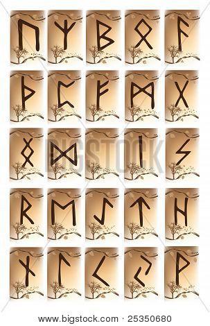 Rune Set Of Characters